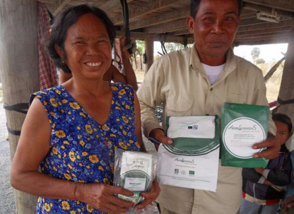 semences bio Association Les amis du Pays Khmer