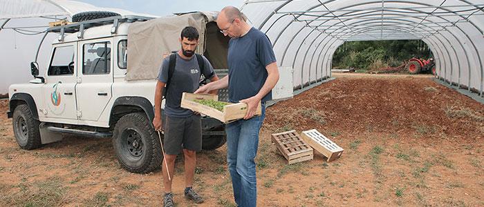 ferme semencière bio AGROSEMENS - préparation biodynamique